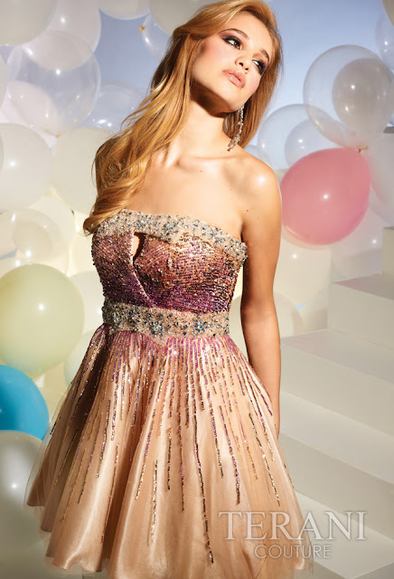 Vestidos cortos de fiesta terani 2012 21 - Gen� K�z Abiye Modelleri