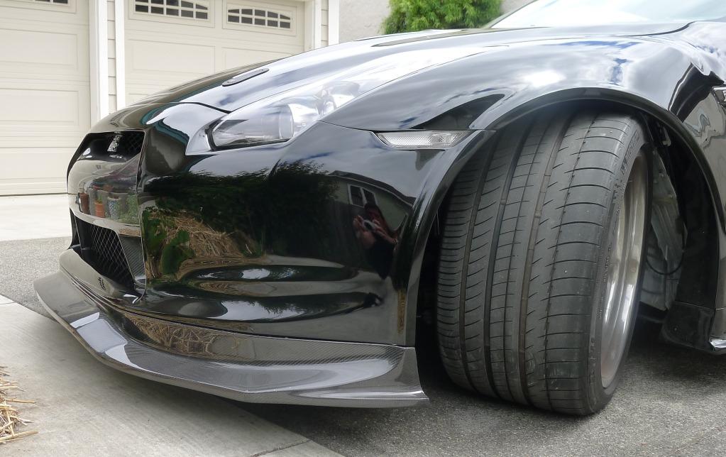 Ait Full Carbon Fiber Widebody Kit For Nissan Gtr