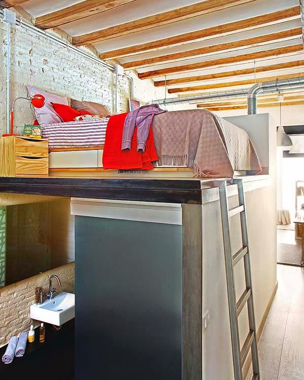 interior design online  Cama do apartamento