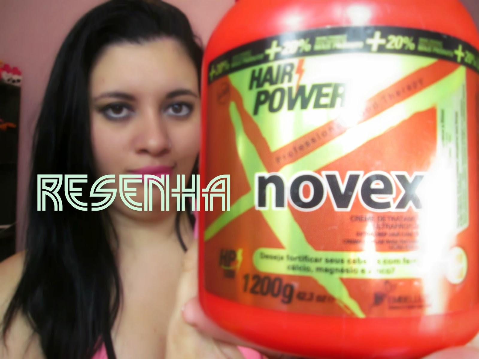 novex,hair power,hodratação
