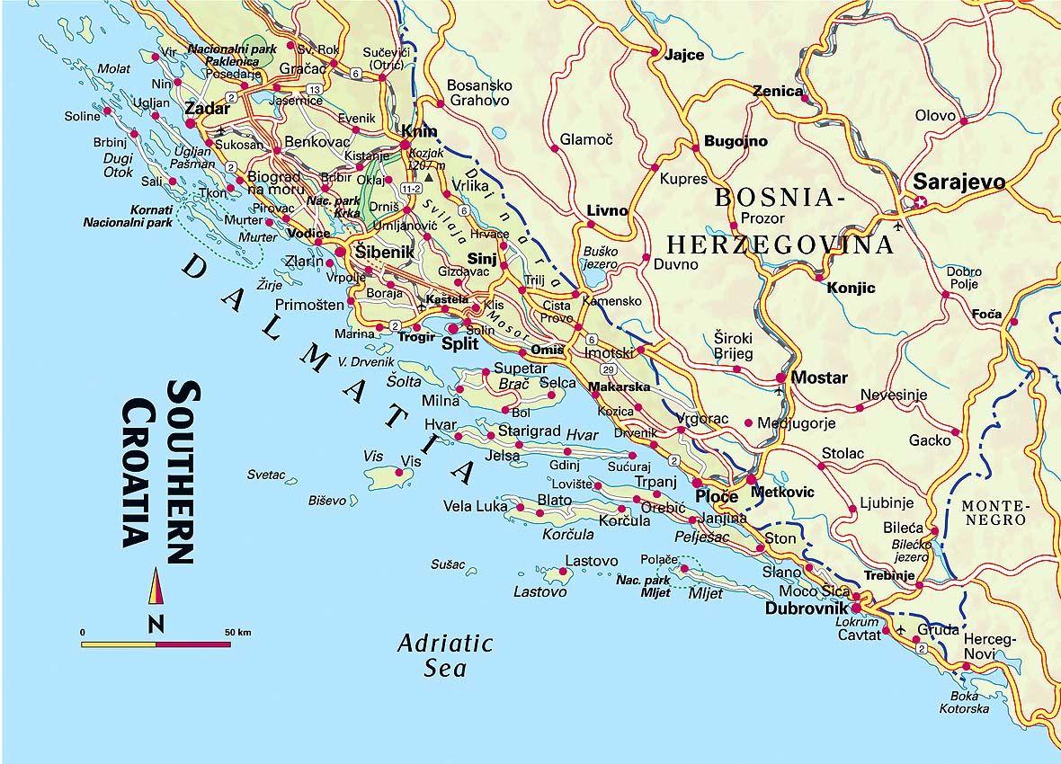 water drinken kroatie