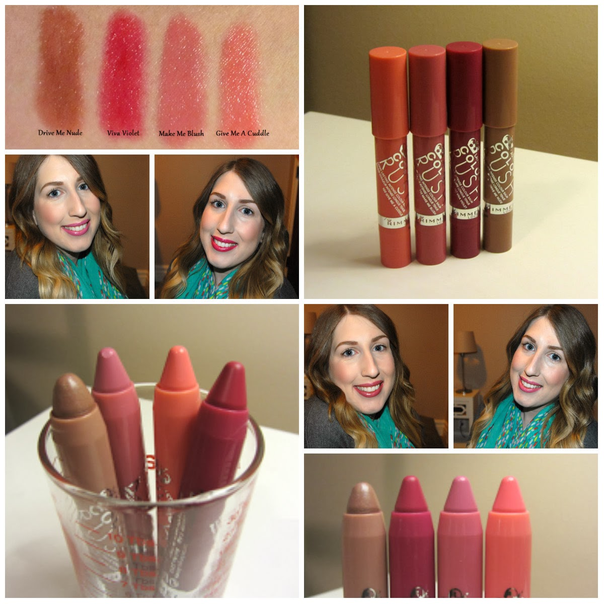 Sneak Peak! Rimmel London Color Rush Balms, Review and Swatches