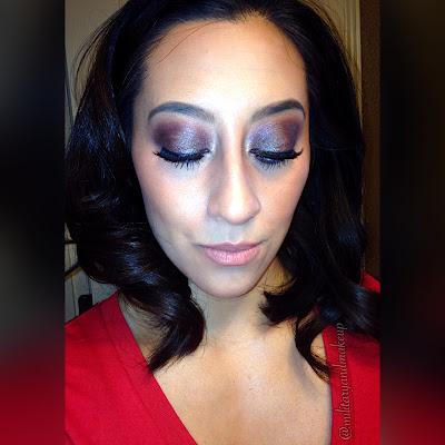 Fall makeup eyeshadow using wet n wild comfort zone