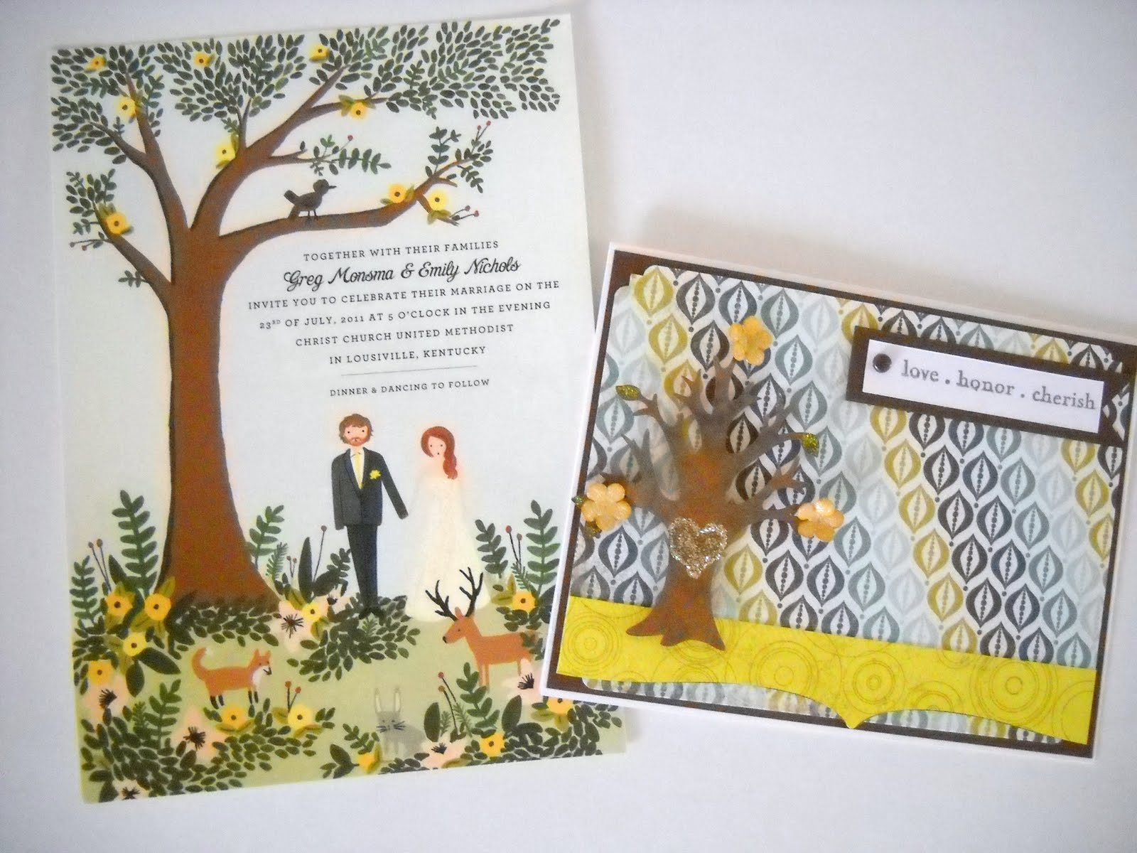 Lisa\'s Creative Niche: A Wedding Card with Invitation Inspiration ...