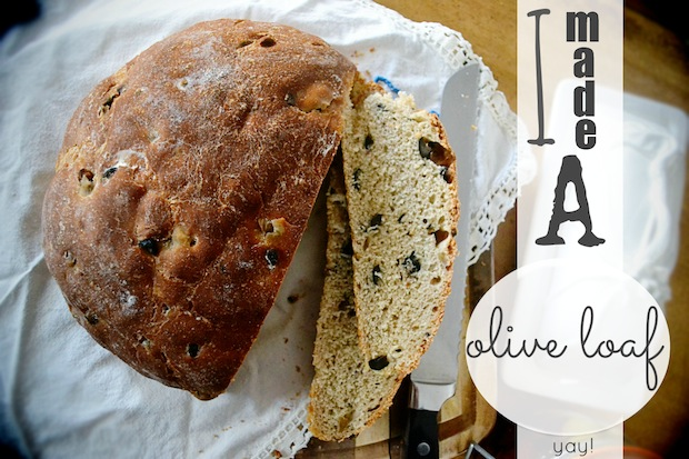 Olive loaf, recipe, bread