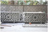 pembuatan ornamen pagar masjid