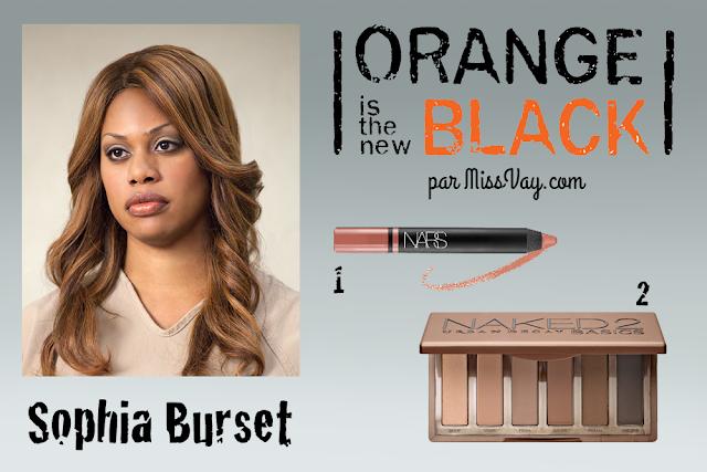 Inspiration maquillage : Orange is the New Black Sophia Burset