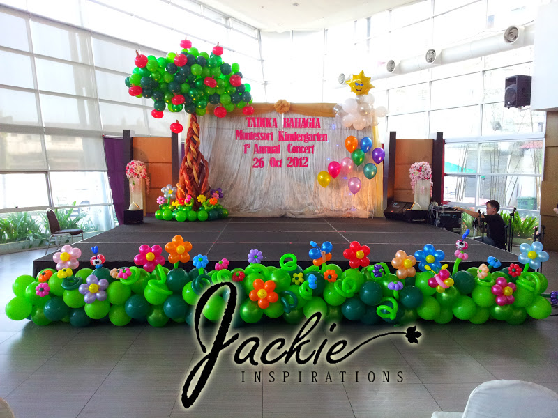 Balloon decorations for weddings, birthday parties, balloon