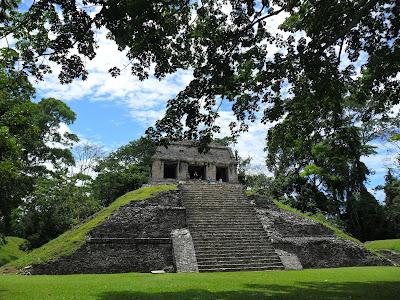 Templo del Conde at Palenque in Mexico