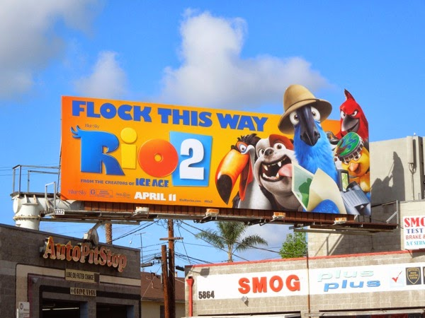 Rio 2 special movie billboard