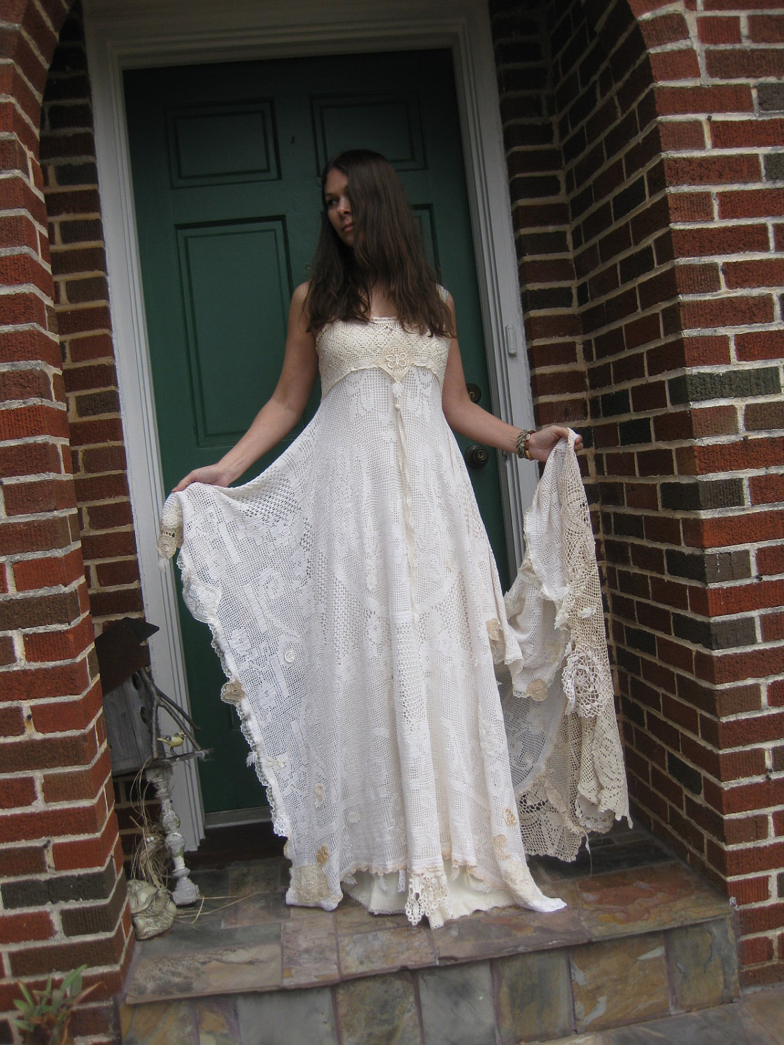 Weddingzilla alternative wedding dresses for Bohemian white wedding dress