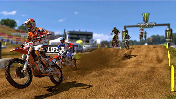 Screen Shot Of MXGP The Official Motocross Videogame (2014) Full PC Game Free Download At worldfree4u.com