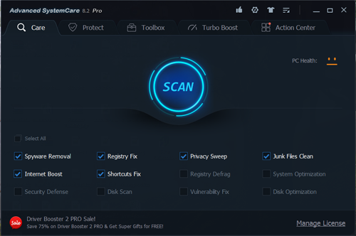 Advanced SystemCare Pro 8.2.0.795 Full Patch