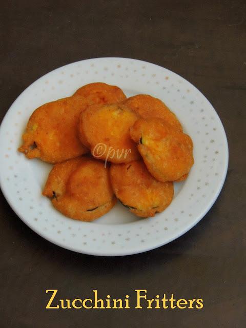 Zucchini bajji, Zucchini fritters