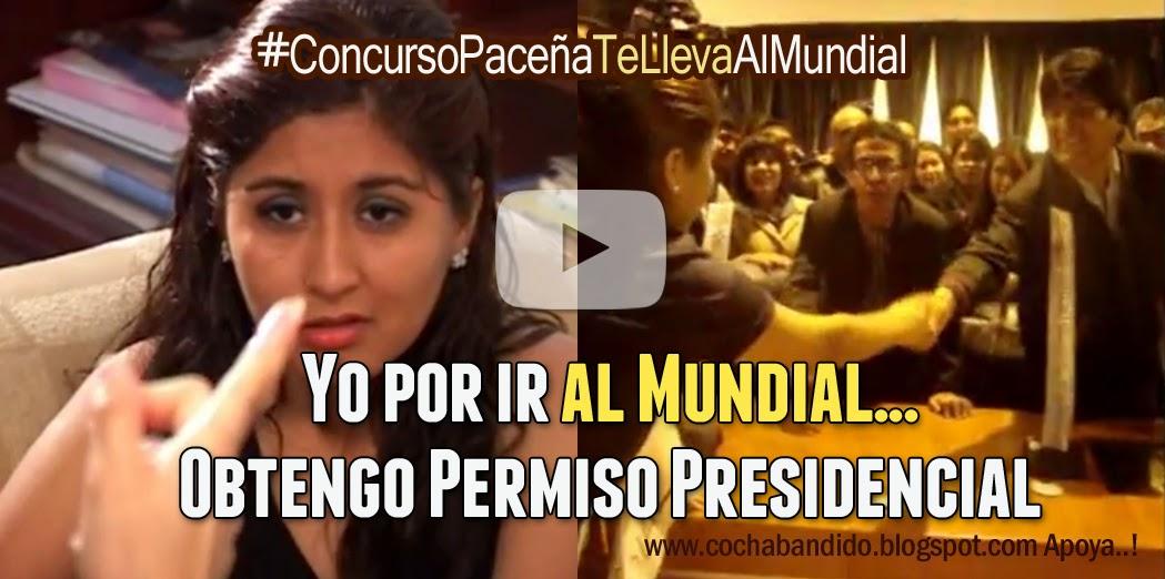 permiso presidencial por ir al mundial-cochabandido-blog-bolivia
