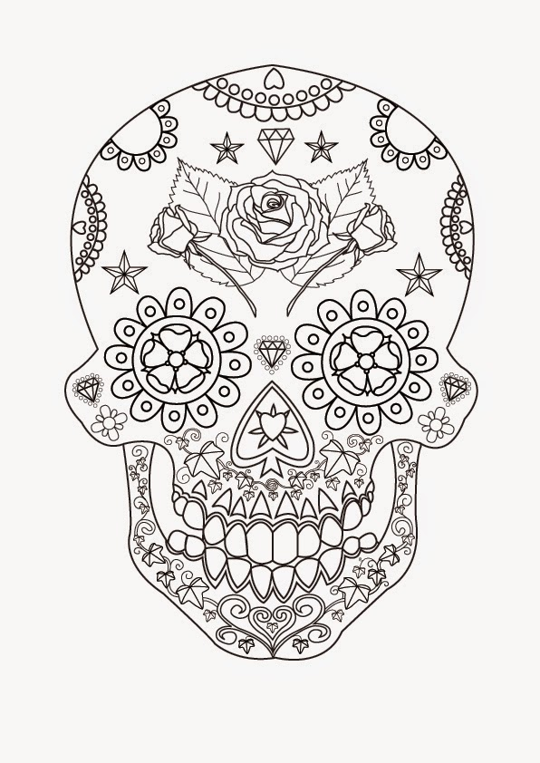 Coloring Pages Skull Free Printable Coloring Pages – Skull Worksheet
