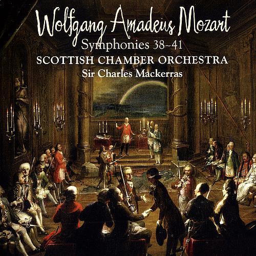 Mozart symphony 38,39,40,41 Scottish Chamber Orchestra Charles Mackerras
