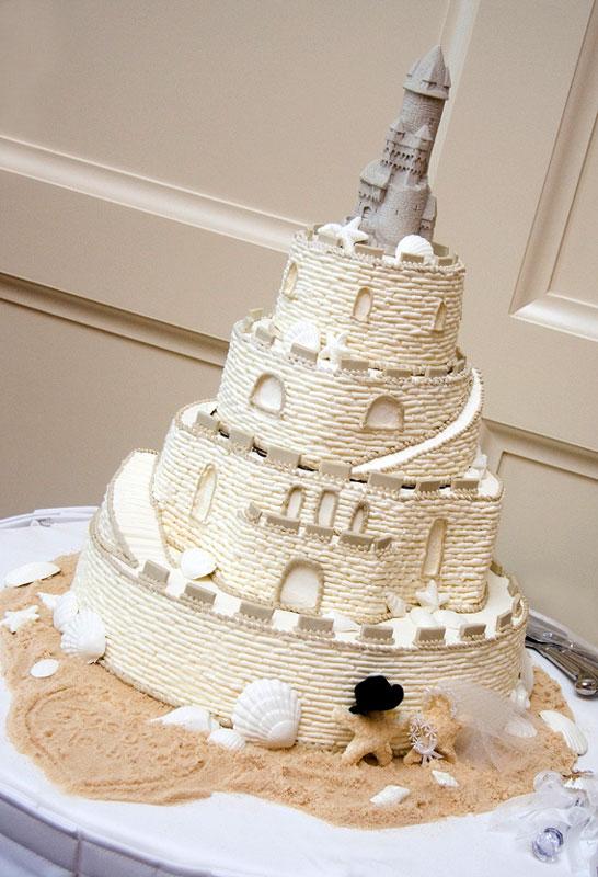 seaside theme wedding cakes Delicious Cakes Wedding Cakes