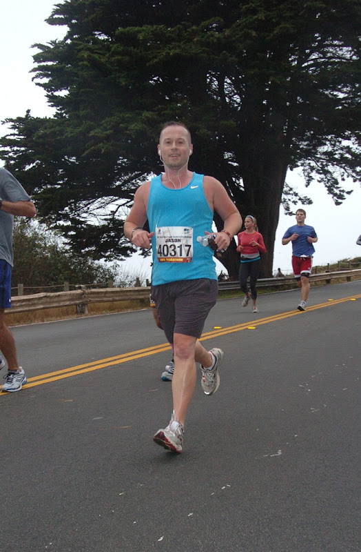 Running San Francisco Marathon