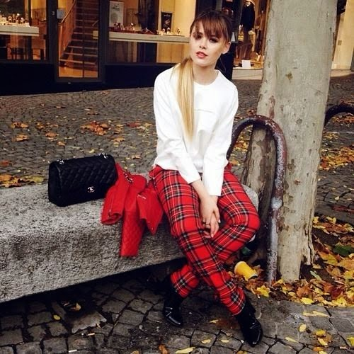 outfit_tartan_fashionblogger_moda_stile