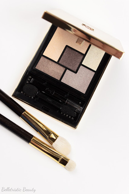 Yves Saint Laurent Saharienne 4 Eyeshadow Couture Palette 5 Color Ready To Wear in studio lighting