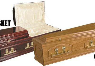 COFFINS AND CASKETS ARE NOT THE SAME THING