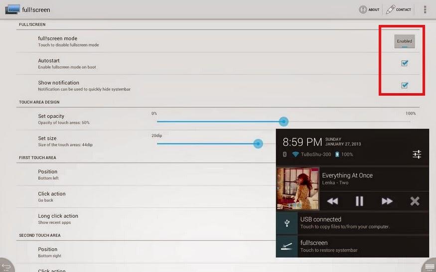 Cara Membuat Tampilan Fullscreen di Android