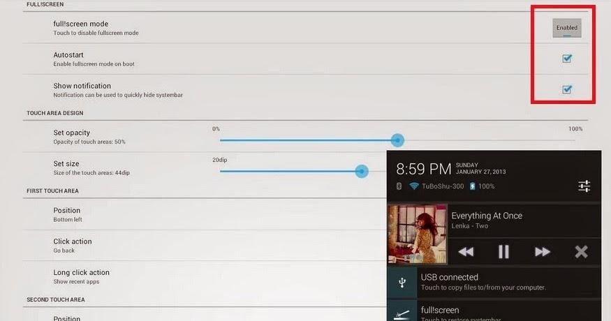 Cara Membuat Tampilan Fullscreen di Android | Epitdroid