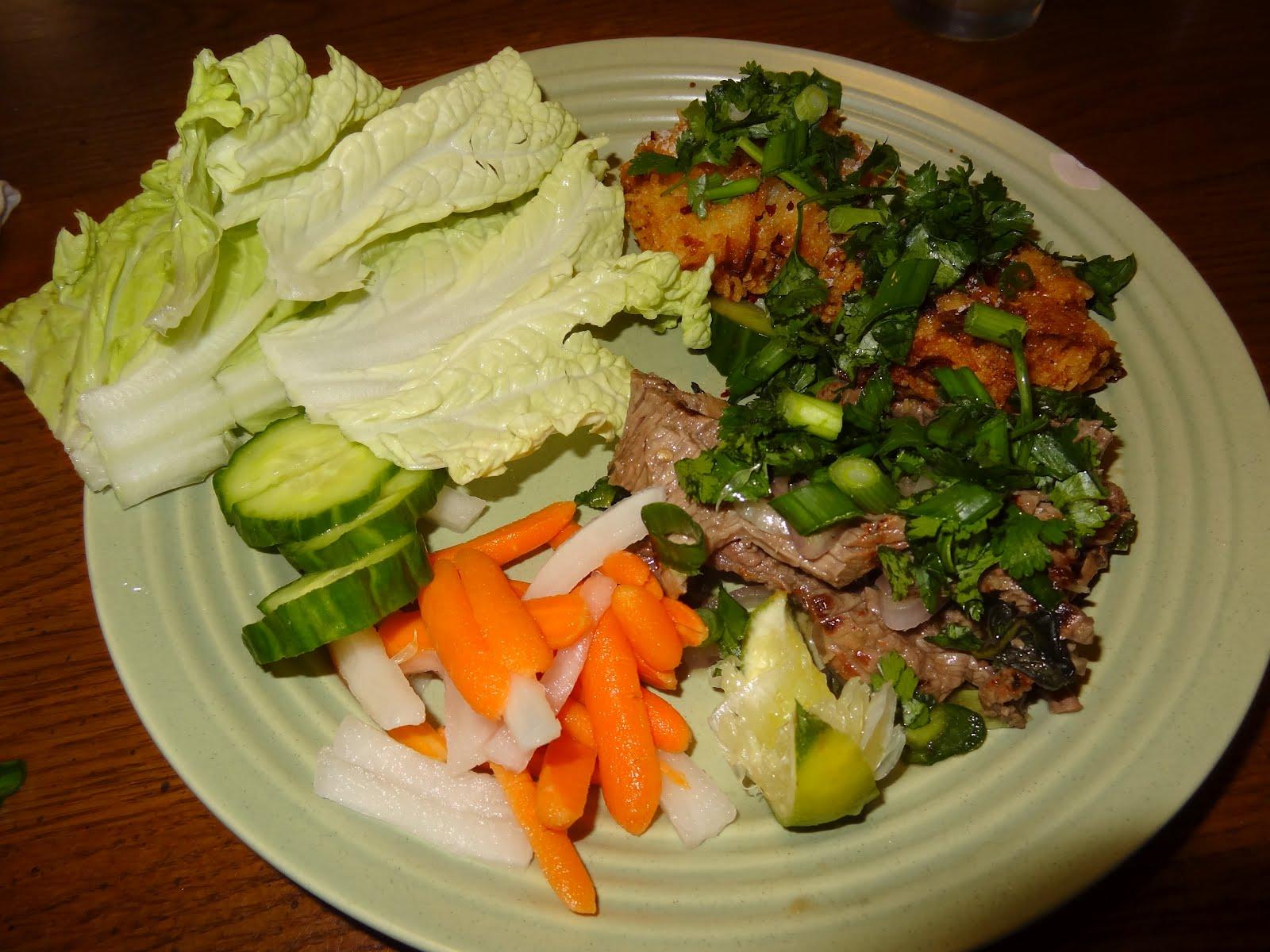 bean beef with thai basil and jasmine rice recipe key spicy thai beef ...