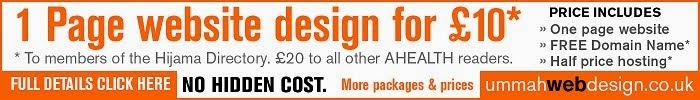 http://www.ummahwebdesign.co.uk/ahealth.html