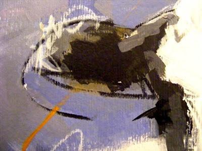 Cow art painting 'Friese Holsteiner' detail 003