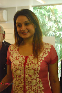 Sonia Agarwal Pictures in Red Salwar Kameez at Musee Musical Piano Salon Launch  0013