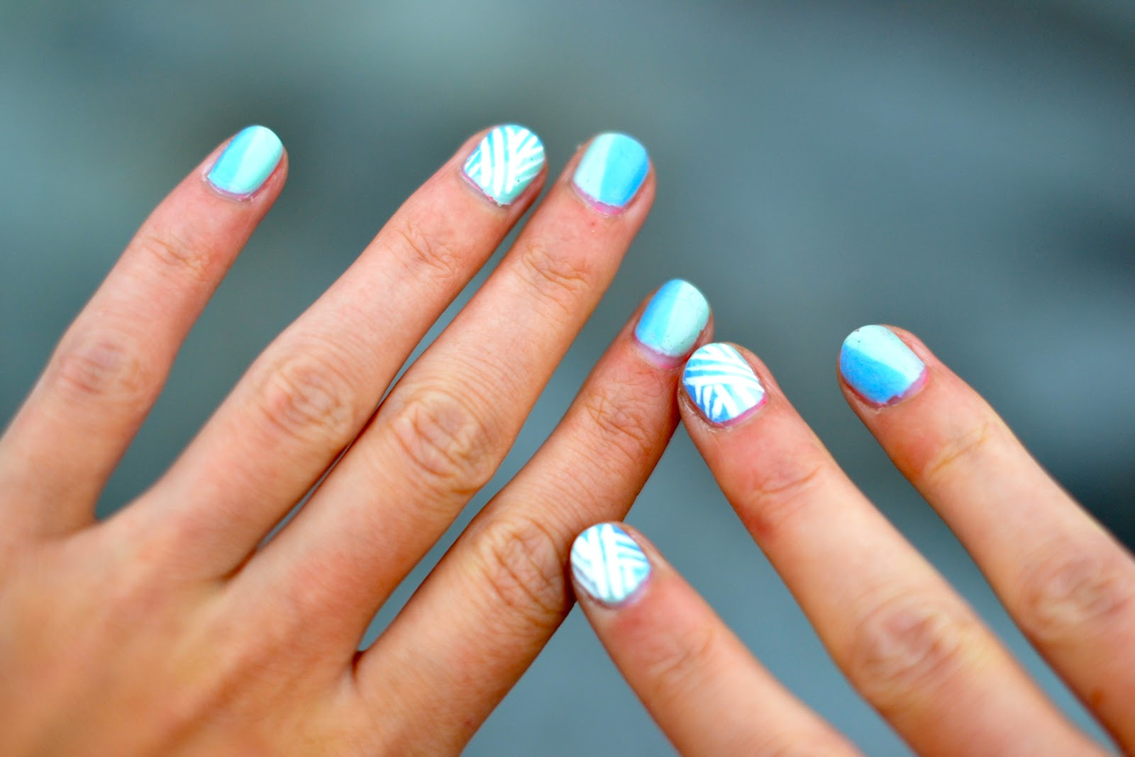 cool ways to paint your nails at home | Home Painting