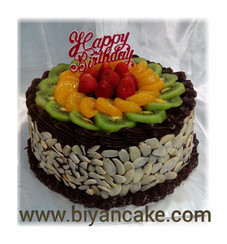 Fruit Rainbow cake ~ Aryo