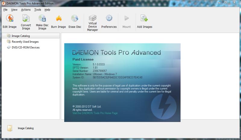 ошибка драйвера daemon tools pro 55