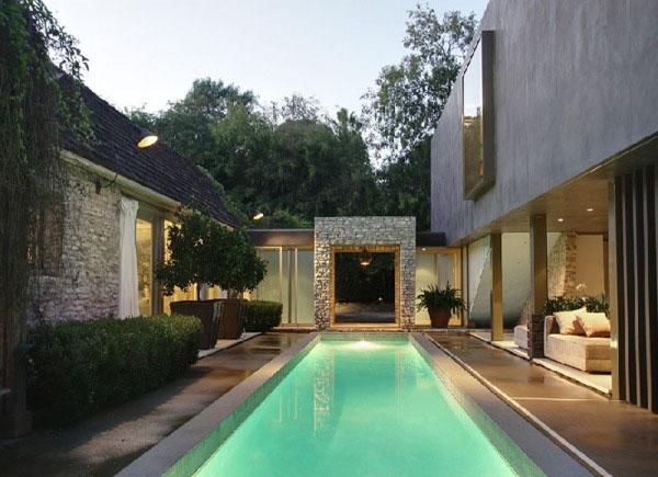 Casas minimalistas y modernas piscinas minimalistas de for Piscinas minimalistas