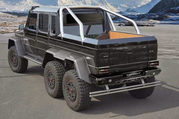 New 2014 Mercedes AMG G63 6x6 By Mansory