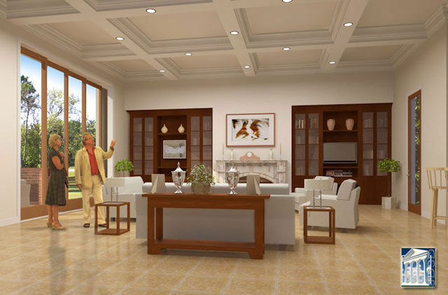 Modern Home Interior Design Family Room Designs