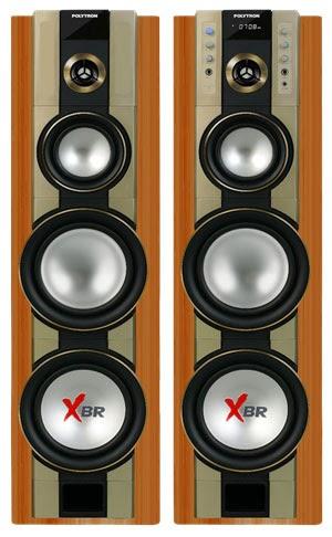 7 Speaker Aktif Polytron Berdaya Watt RMS Besar