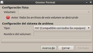 Como formatear una USB en ubuntu facil y rapido