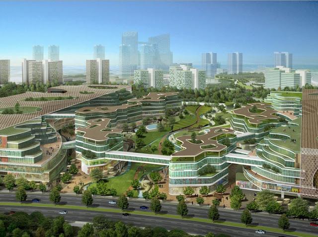 Tianjin Eco-City: la ciudad más verde del mundo