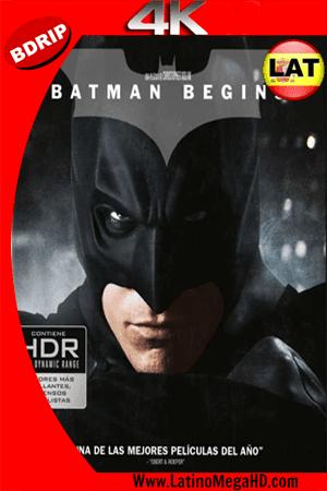Batman Inicia (2005) Latino Ultra HD 4K BDRIP 2160P ()