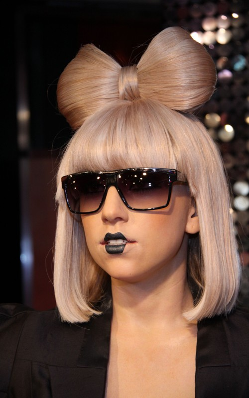 Jarap Lady Gaga Messy Bob Hairstyle Lady Gaga Hairstyles Pictures