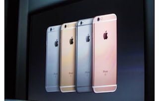 Novos iphones 6 e 6s plus e noca cor rose gold
