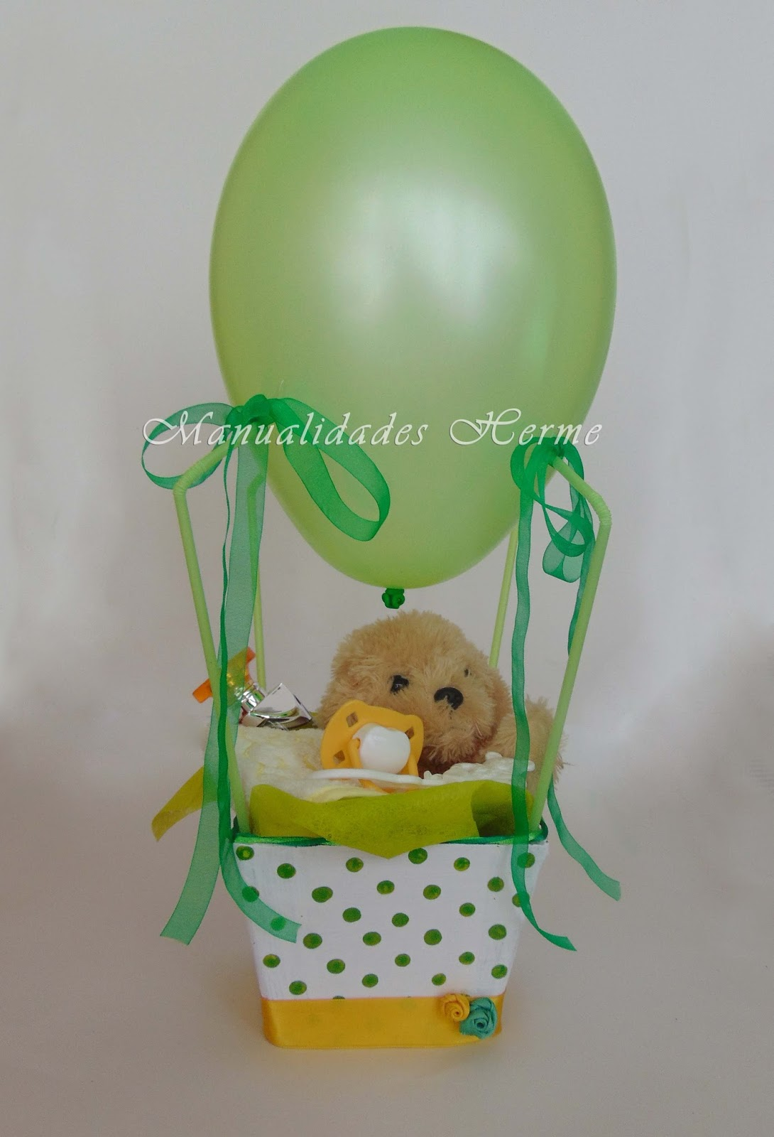 Manualidades herme diy globo para regalo baby shower for Manualidades decoracion bebe