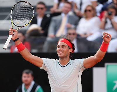 Rafael Nadal wins Rome Final 2013