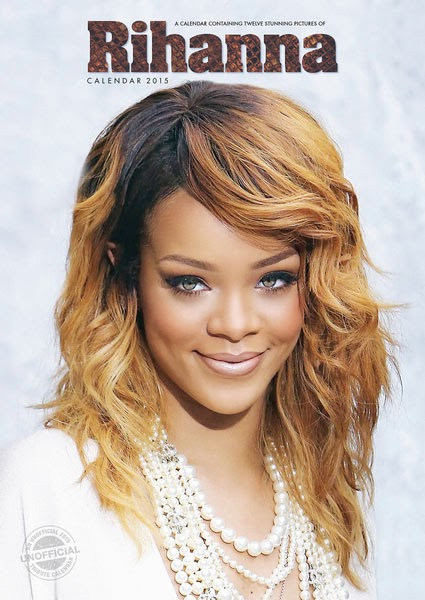 Calendario Rihanna 2015