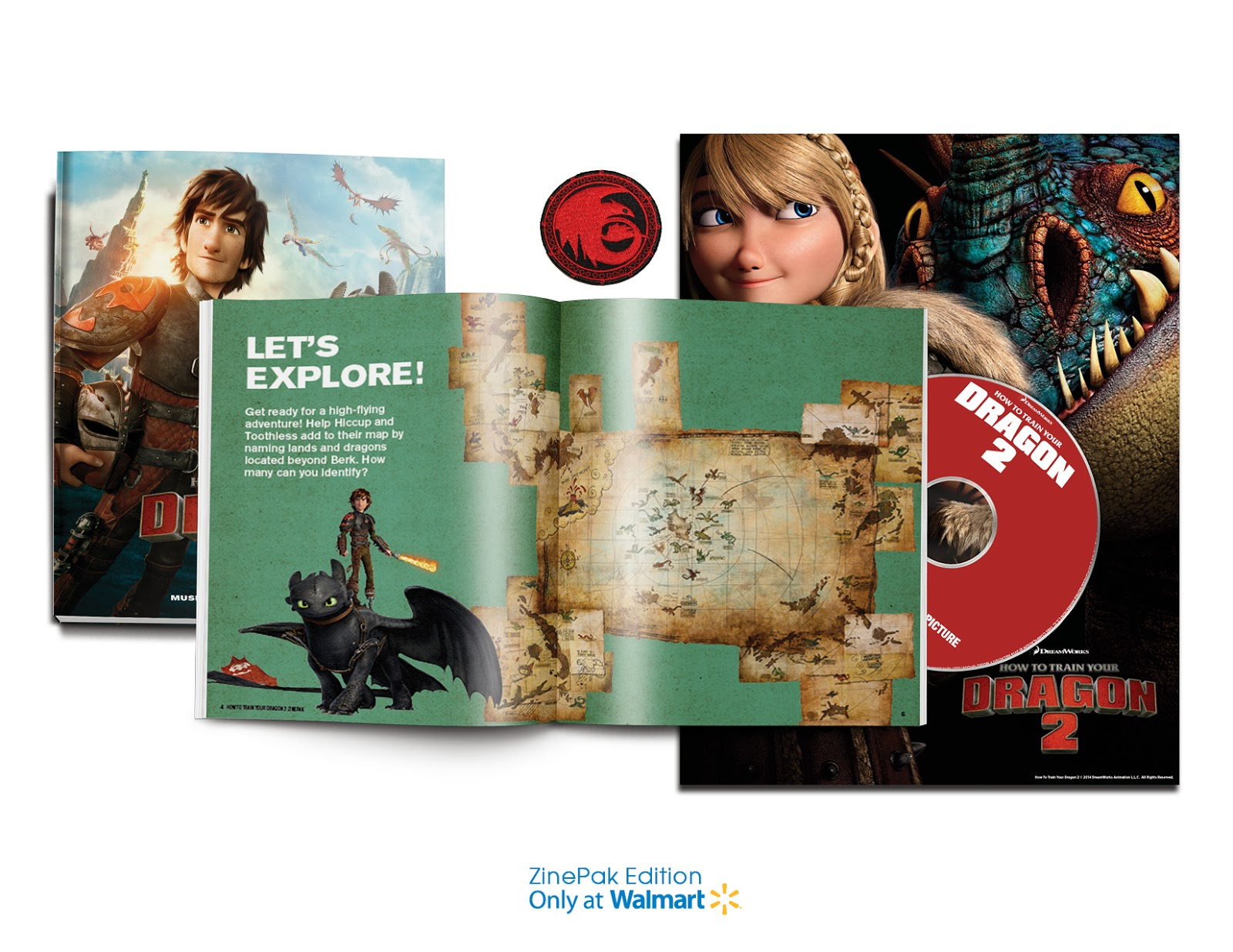 How To Train Your Dragon 2 ZinePak Giveaway. Ends 6/17.