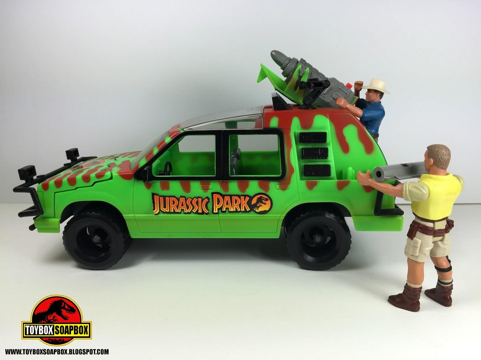 Jurassic Park Toys : Toybox soapbox past plastic kenner jurassic park