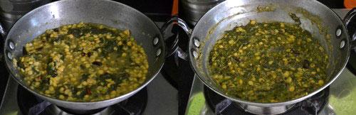Kanda Bhaaji Channa Dal Sabzi Recipe